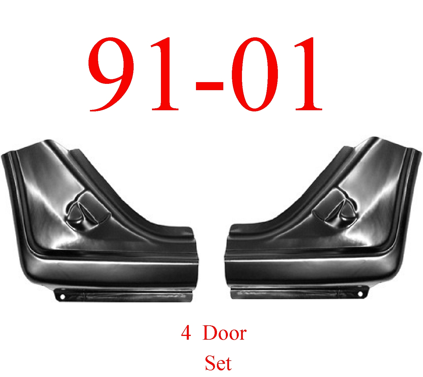 91-01 Ford Explorer Dog Leg Set 4 Door